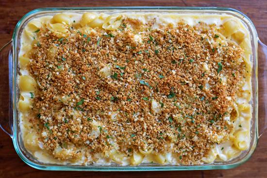 Cauliflower Macaroni and Cheese