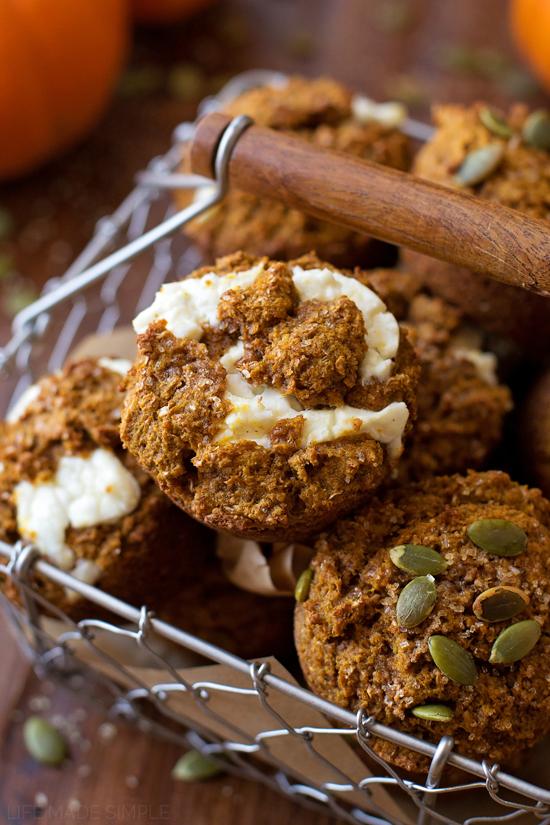 Healthy Pumpkin Bran Muffins