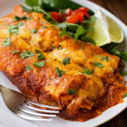 Crazy Delicious Beef Enchiladas