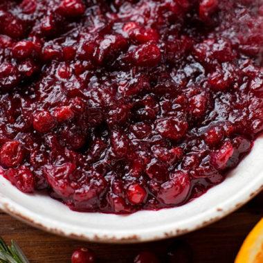 Cranberry-Orange Sauce