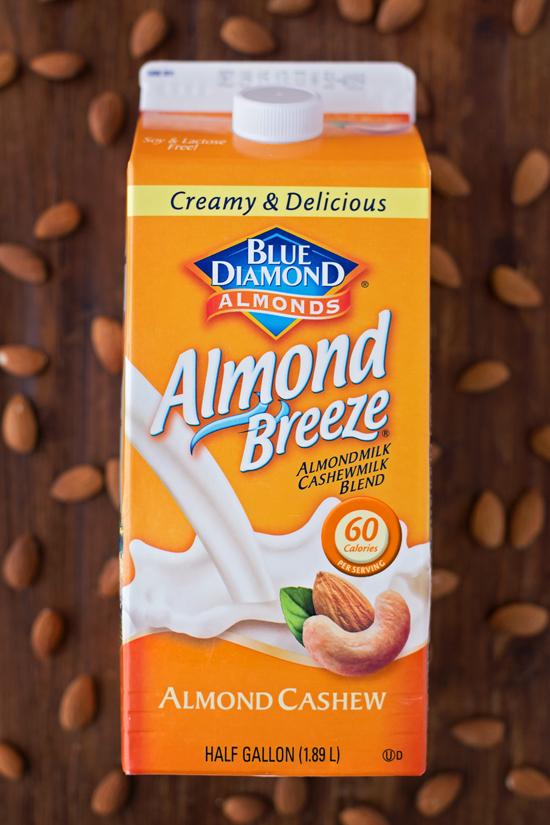 Almond breeze cashew milk for Gingerbread Muffin Recipe