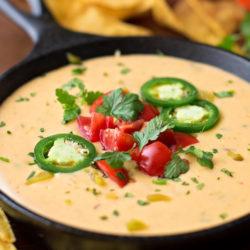 Homemade Queso Dip | lifemadesimplebakes.com