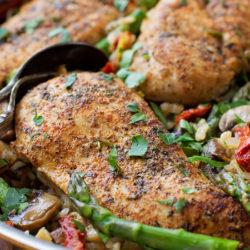 Tuscan Chicken and Rice Skillet   lifemadesimplebakes.com