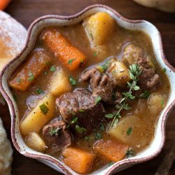 Beef and Vegetable Stew | lifemadesimplebakes.com