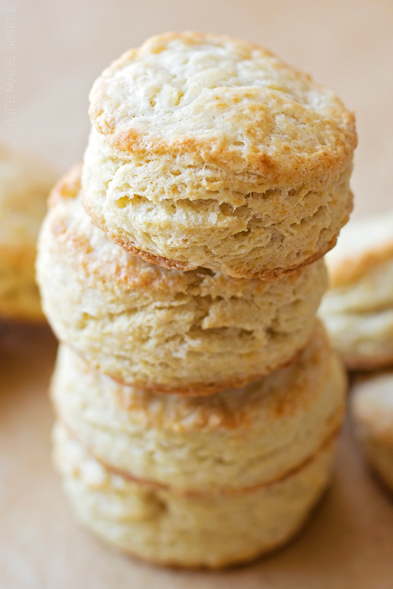 Buttermilk Biscuits | lifemadesimplebakes.com