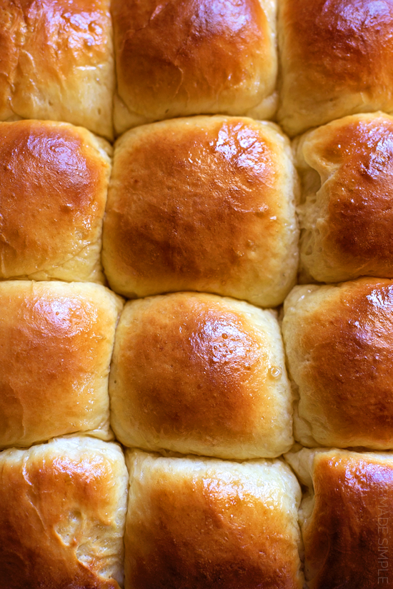 Heavenly Dinner Rolls | lifemadesimplebakes.com