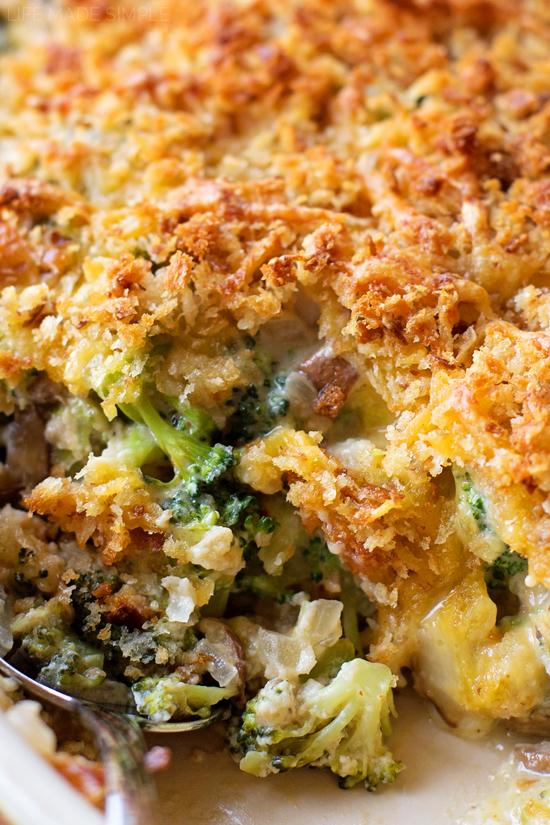 Healthy broccoli casserole