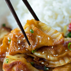 Beef Pot Stickers | lifemadesimplebakes.com