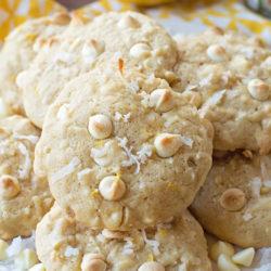 Lemon Coconut Cookies | lifemadesimplebakes.com