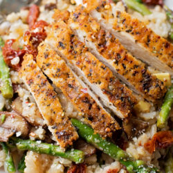 "Chase's Parmesan Chicken ""Risotto"" 