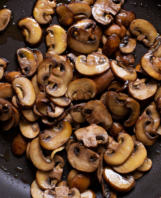 Sauteed mushrooms for parmesan chicken risotto recipe