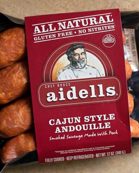 Andouille sausage