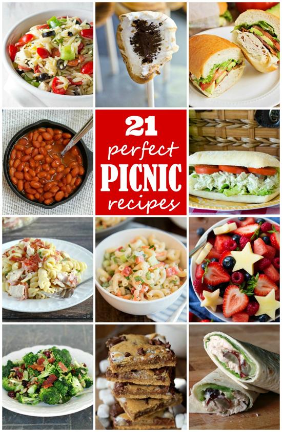 21 Perfect Picnic Recipes | lifemadesimplebakes.com