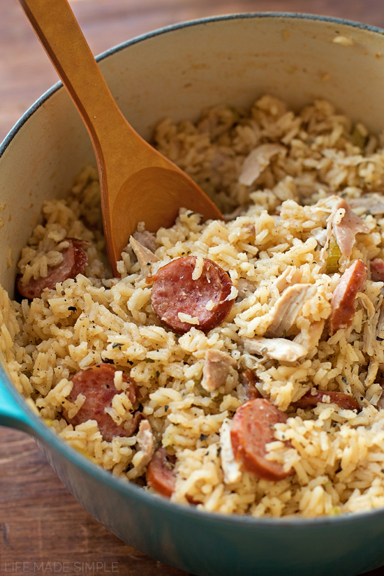 One Pot Chicken Bog | lifemadesimplebakes.com