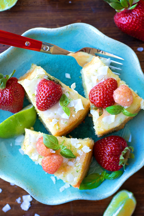 Coconut Lime Chiffon Cake | lifemadesimplebakes.com