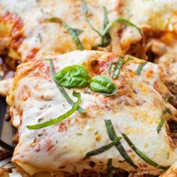 40 Minute Skillet Lasagna   lifemadesimplebakes.com