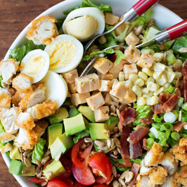 BLT Cobb Salad   lifemadesimplebakes.com