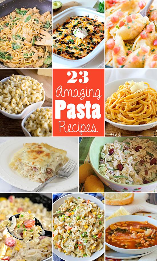 23 Amazing Pasta Recipes | lifemadesimplebakes.com