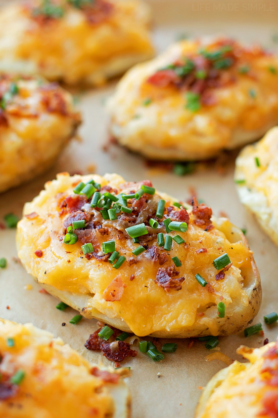 Loaded Twice Baked Potatoes Life Made Simple