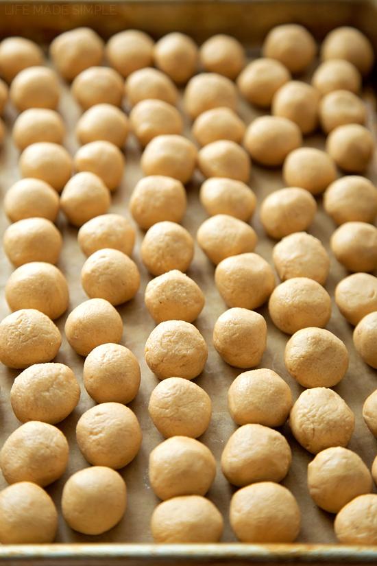 Peanut butter balls for buckeyes recipe