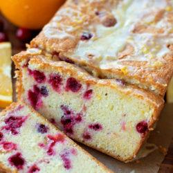 Cranberry Orange Pound Cake   lifemadesimplebakes.com