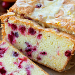 Cranberry Orange Pound Cake | lifemadesimplebakes.com
