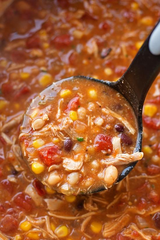 Chicken Tortilla Soup | lifemadesimplebakes.com