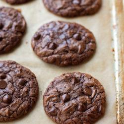 Fudgy Brownie Cookies | lifemadesimplebakes.com