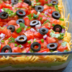 Best Ever 7 Layer Dip | lifemadesimplebakes.com