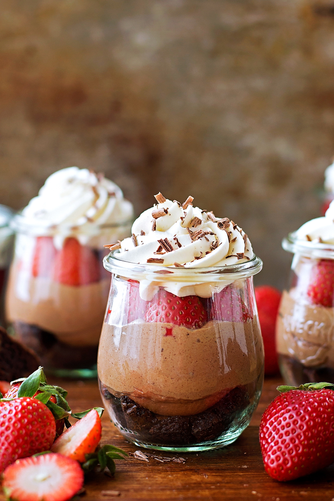 No-Bake Nutella Brownie Cheesecakes | lifemadesimplebakes.com