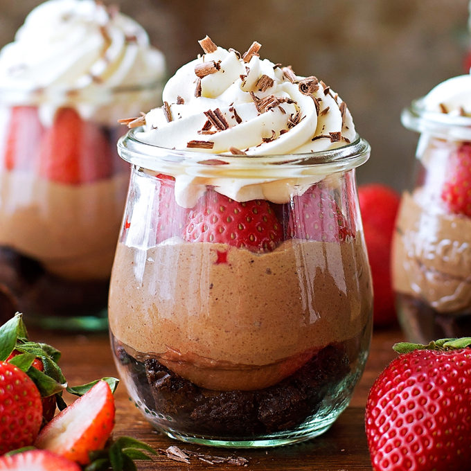 No Bake Nutella Brownie Cheesecakes Life Made Simple