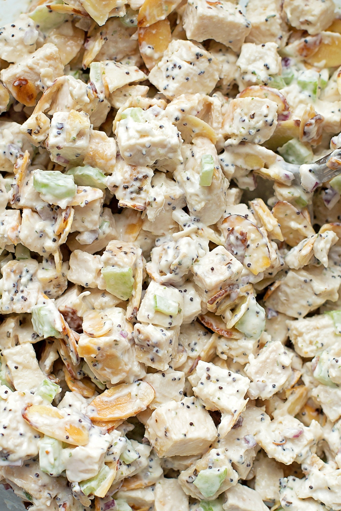 Better than a bakery Almond Poppy Seed Chicken Salad
