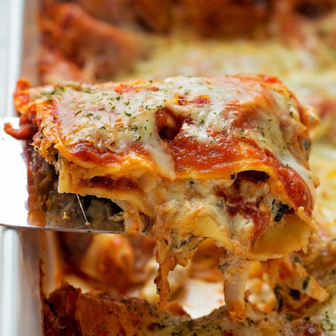 Insanely Delicious Chicken Lasagna