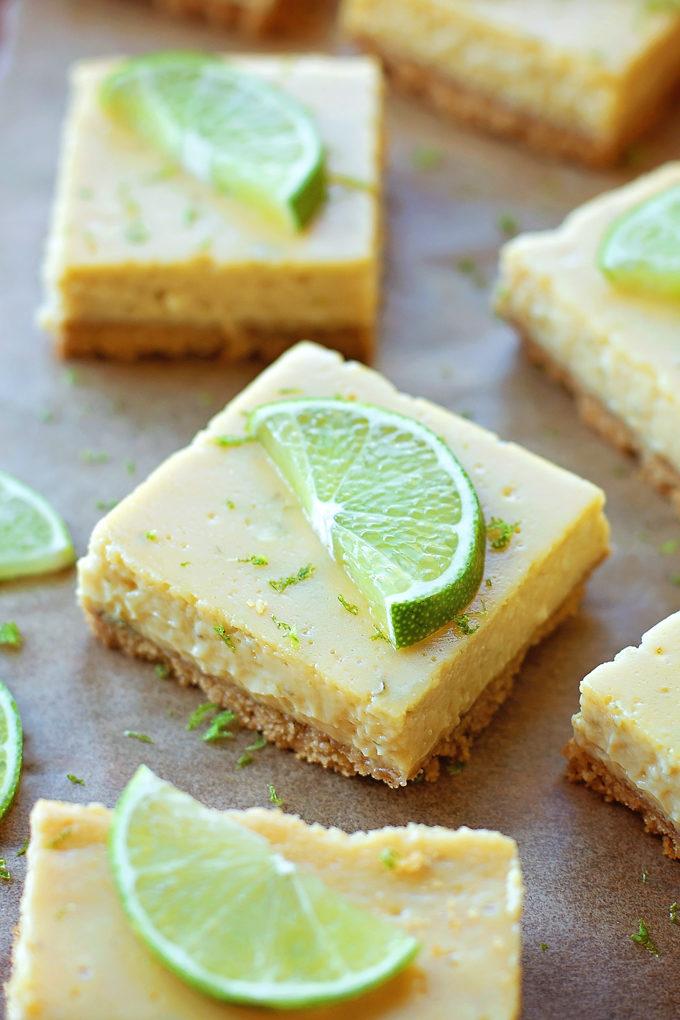 Key Lime Pie Bars   lifemadesimplebakes.com