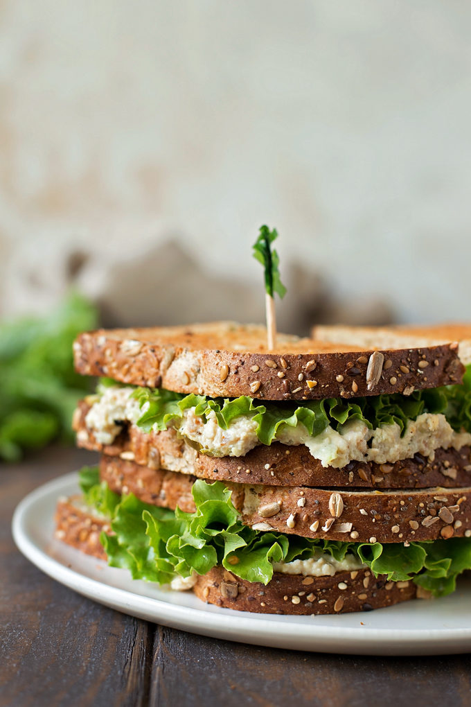 Chick-fil-A Chicken Salad Sandwich on a white plate