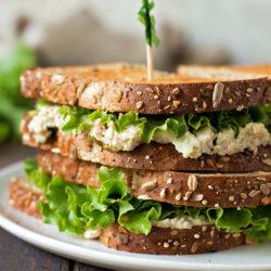 Chick Fil A Chicken Salad Sandwich | lifemadesimplebakes.com
