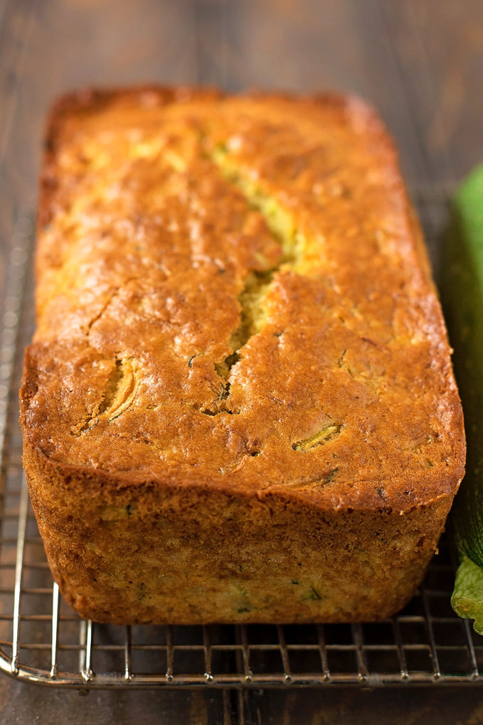 Lemon Zucchini Bread Loaf