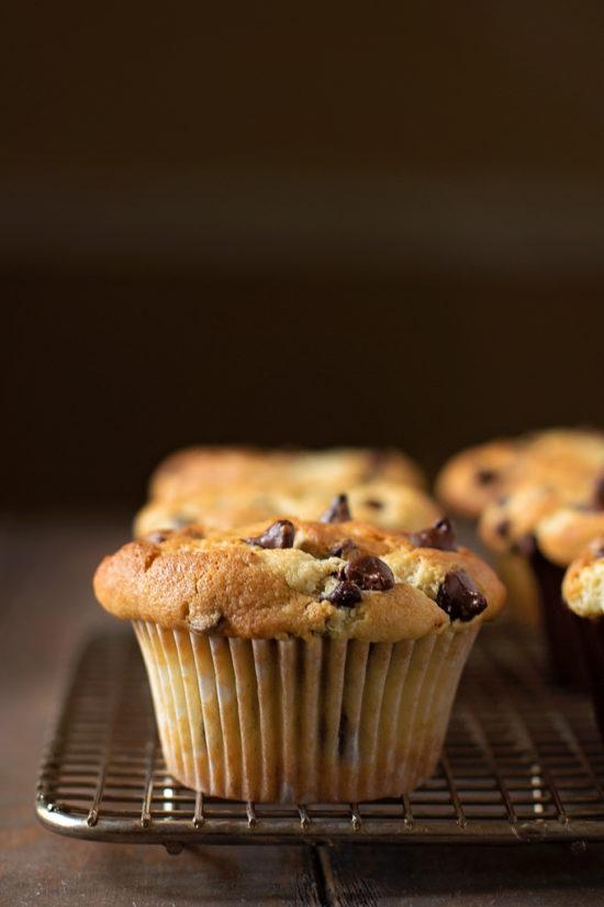 Perfect Chocolate Chip Muffins | lifemadesimplebakes.com