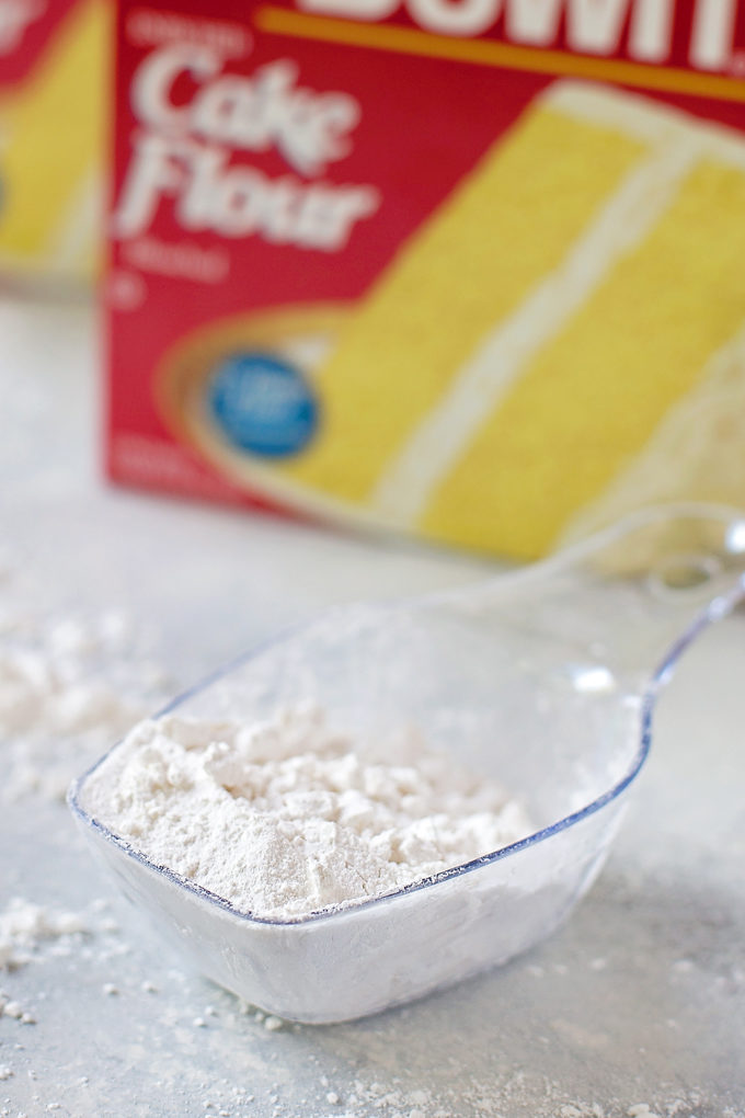 Cake Flour used in peppermint sugar cookie recipe