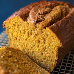 Pumpkin Zucchini Bread | lifemadesimplebakes.com