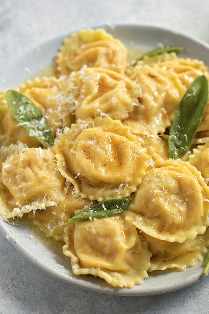 Homemade Butternut Squash Ravioli