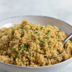 Instant Pot Quinoa Pilaf | lifemadesimplebakes.com