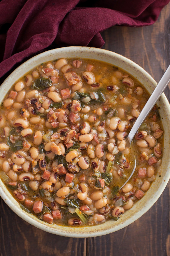 Instant Pot Black Eyed Pea Soup