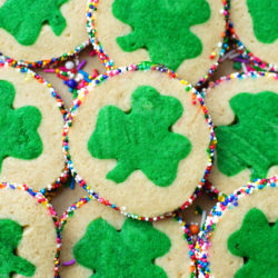 Slice and Bake Clover Cookies | lifemadesimplebakes.com