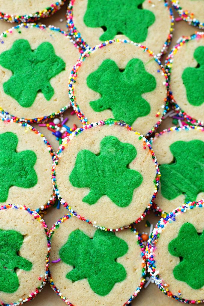 Slice and Bake Clover Cookies   lifemadesimplebakes.com
