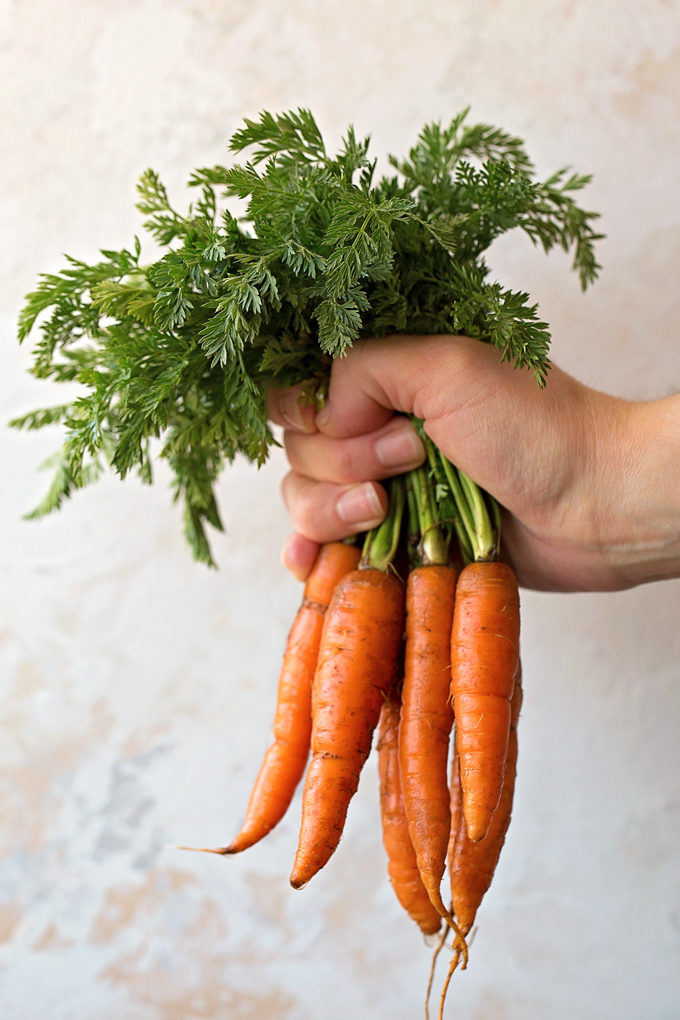 Carrots for carrot cake recipe