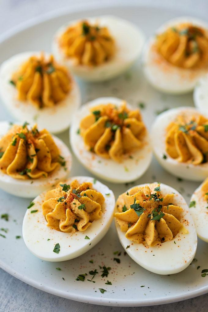 Dangerously Good Deviled Eggs | lifemadesimplebakes.com