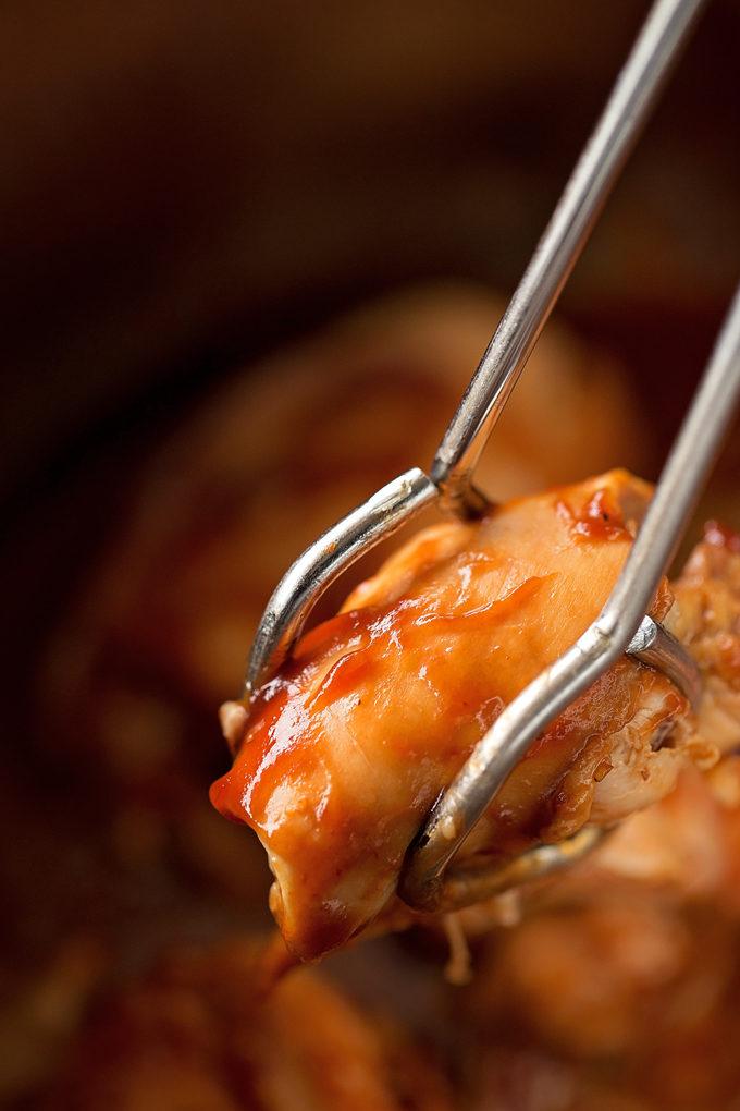 Instant Pot BBQ Chicken | lifemadesimplebakes.com