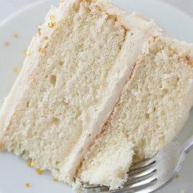 Perfect Vanilla Cake | lifemadesimplebakes.com