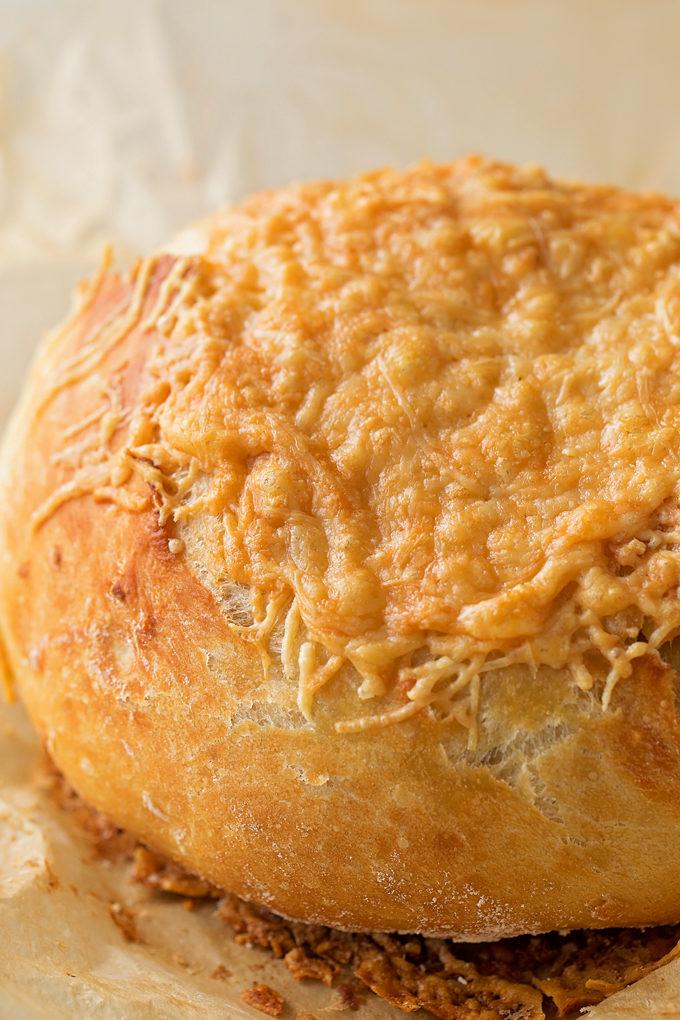 Garlic Parmesan Artisan Bread